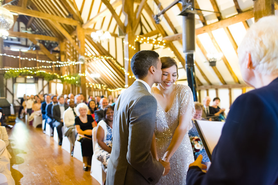 A Jenny Packham bride at The Plough at Leigh, with Terence Joseph Photography (14)