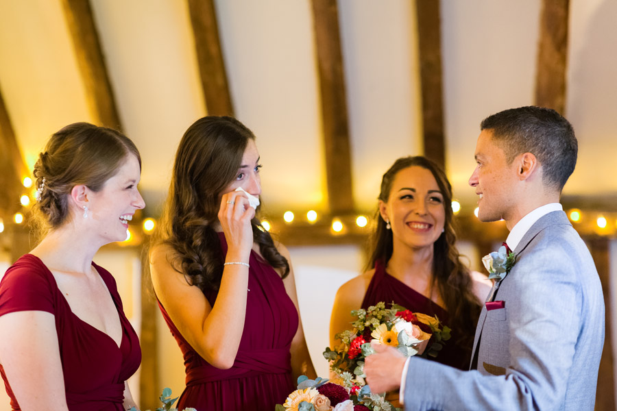 A Jenny Packham bride at The Plough at Leigh, with Terence Joseph Photography (16)
