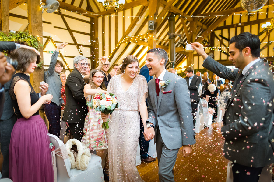 A Jenny Packham bride at The Plough at Leigh, with Terence Joseph Photography (17)