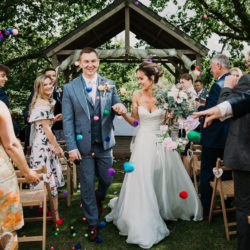 Corinne & Paul's countryside wedding in Cornwall, with Alexa Poppe Photography