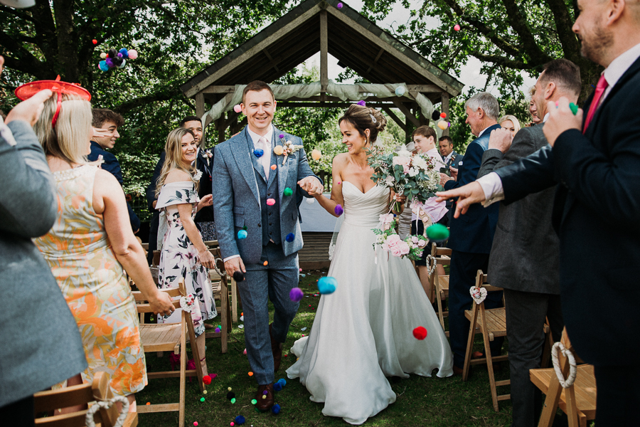 Real wedding at the Green, Cornwall - photography credit Alexa Poppe (28)