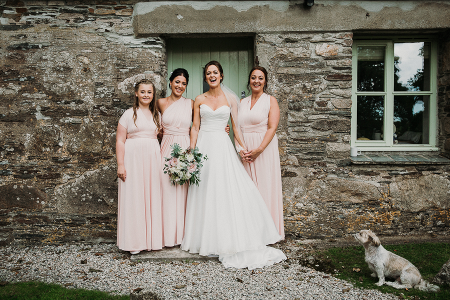 Real wedding at the Green, Cornwall - photography credit Alexa Poppe (30)