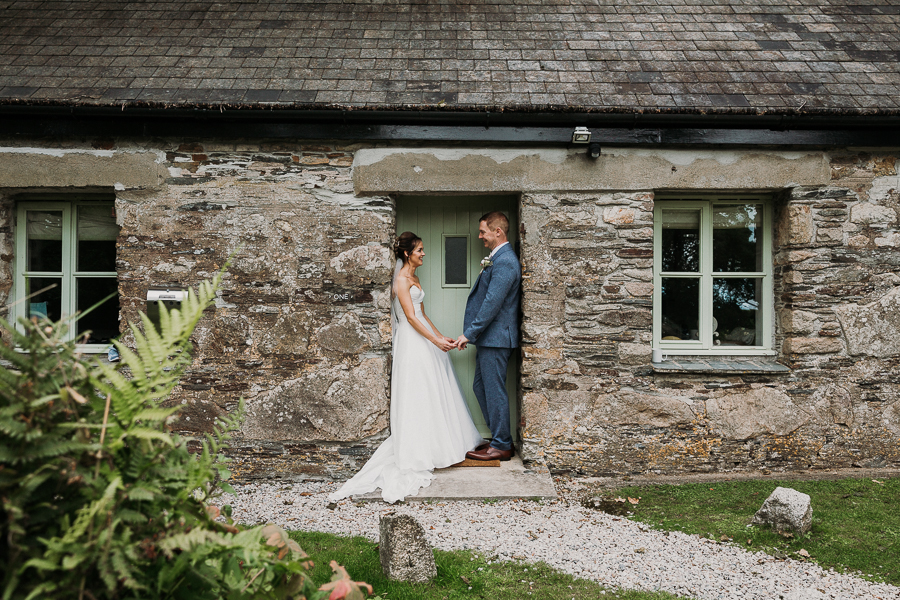 Real wedding at the Green, Cornwall - photography credit Alexa Poppe (36)