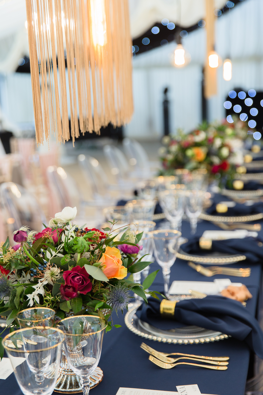Midnight - dark blue and bold decadence from Glemham Hall, image credit Ayshea Goldberg Photography (5)