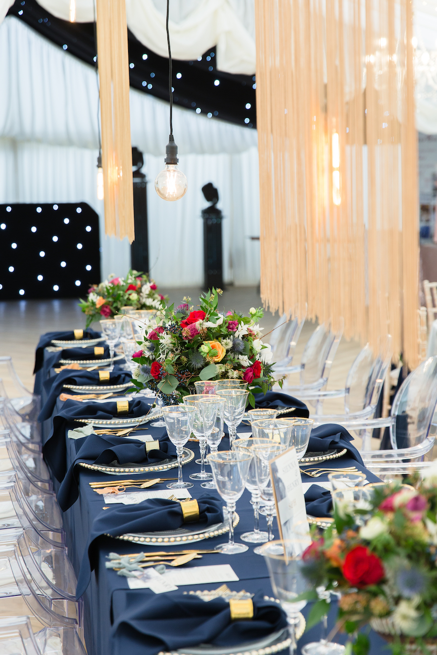 Midnight - dark blue and bold decadence from Glemham Hall, image credit Ayshea Goldberg Photography (6)