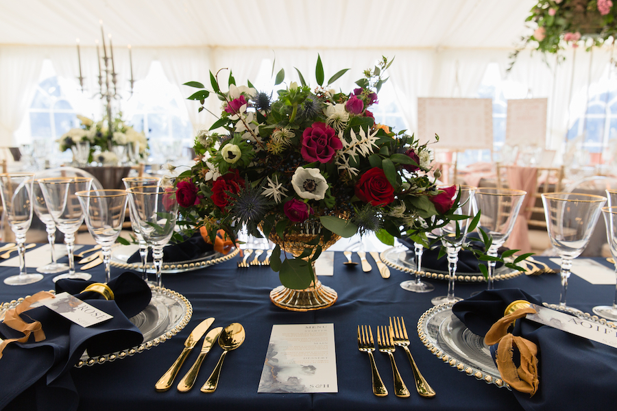 Midnight - dark blue and bold decadence from Glemham Hall, image credit Ayshea Goldberg Photography (7)