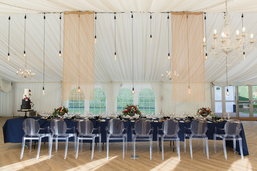 Midnight - dark blue and bold decadence from Glemham Hall, image credit Ayshea Goldberg Photography (9)