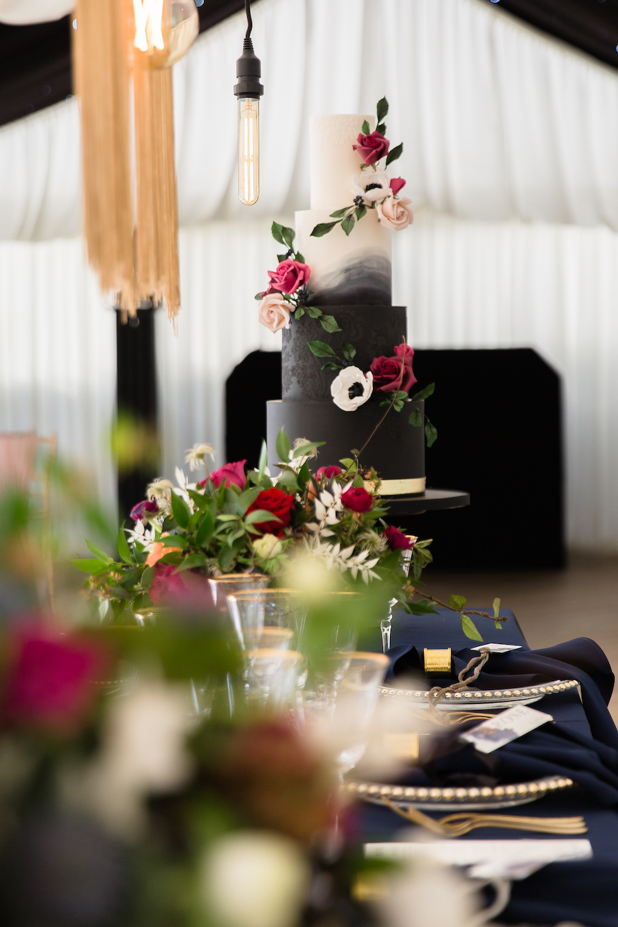 Midnight - dark blue and bold decadence from Glemham Hall, image credit Ayshea Goldberg Photography (10)