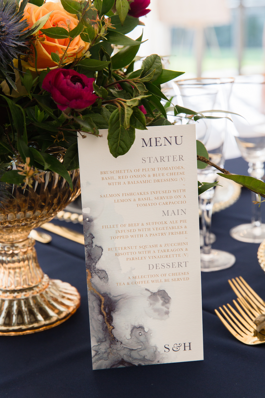 Midnight - dark blue and bold decadence from Glemham Hall, image credit Ayshea Goldberg Photography (11)