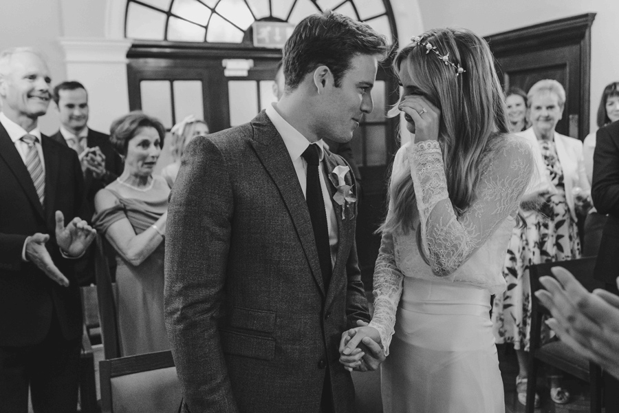 Jessica & Rhys's classical summer wedding at Chelsea Old Town Hall, with Emis Weddings (25)