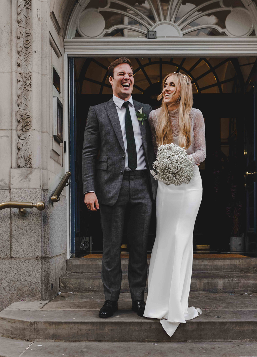 Jessica & Rhys's classical summer wedding at Chelsea Old Town Hall, with Emis Weddings (32)