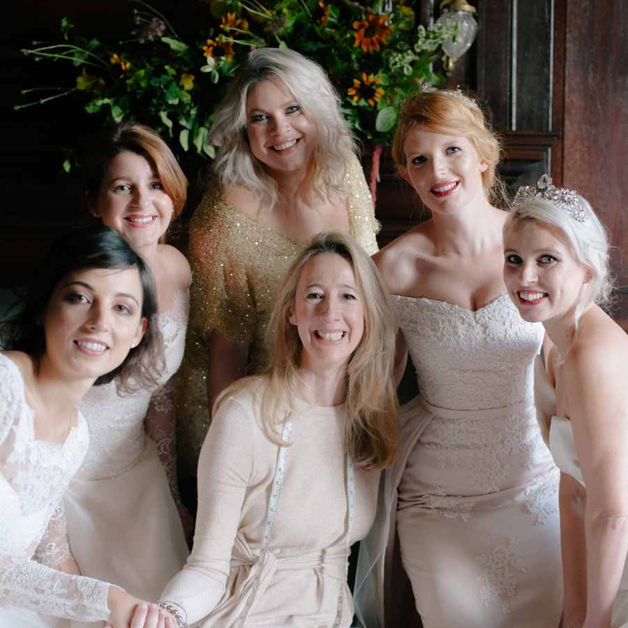 Caroline Arthur Bridal couture wedding dressmaker uk