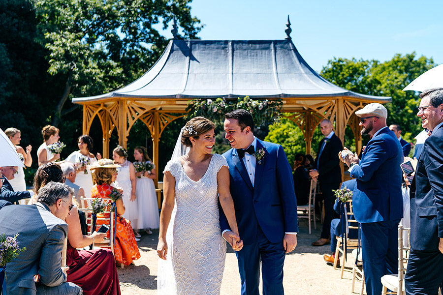 The coolest UK wedding venues - Clevedon Hall, photo credit Jordanna Marston