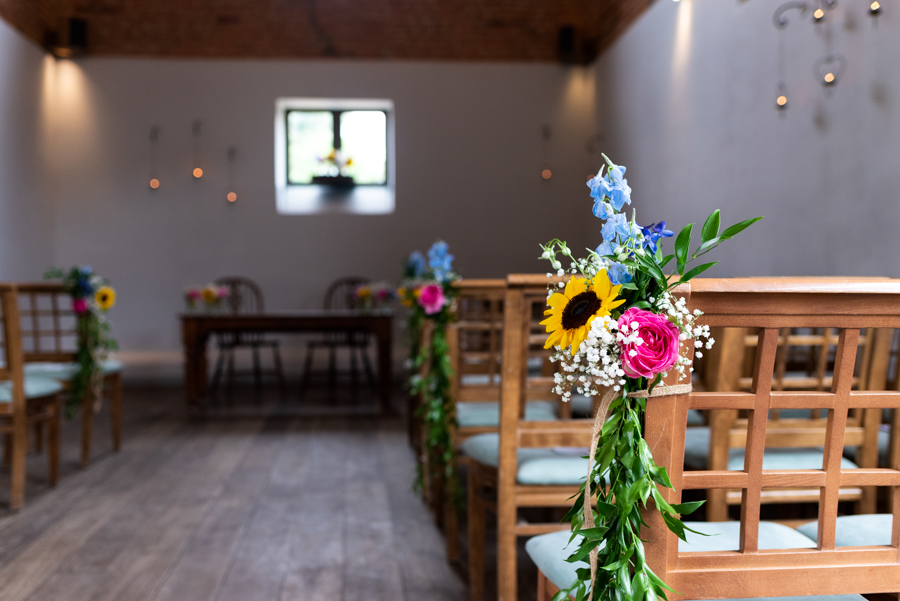 Green and gold for Rebecca & David's Dodmoor House (Daventry) wedding, with Pudding & Plum Photography (11)