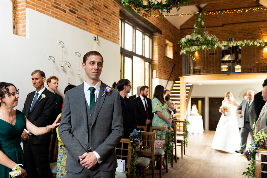 Green and gold for Rebecca & David's Dodmoor House (Daventry) wedding, with Pudding & Plum Photography (20)