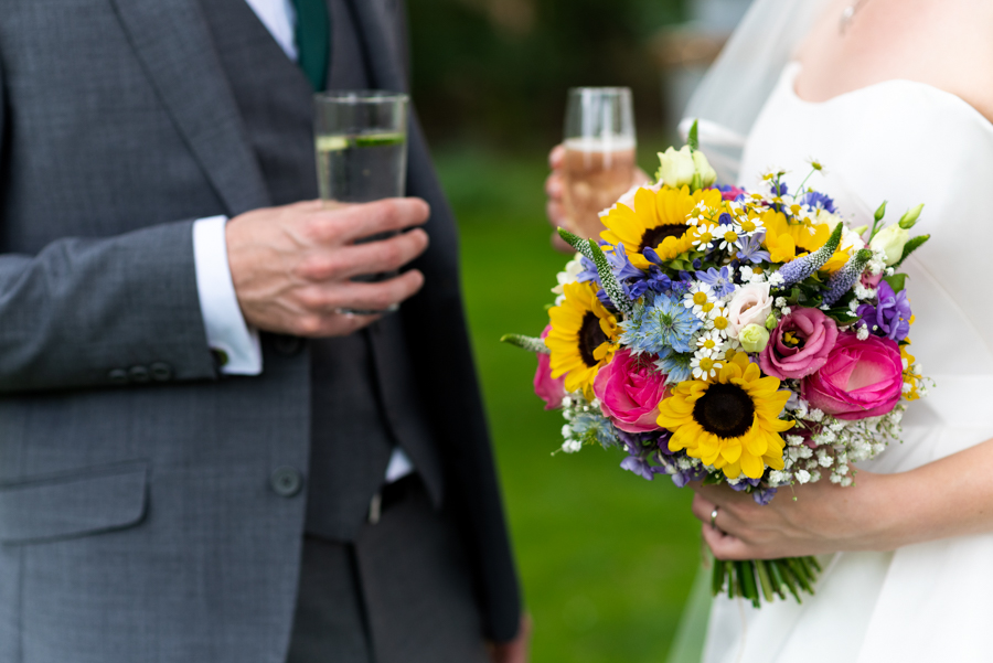Green and gold for Rebecca & David's Dodmoor House (Daventry) wedding, with Pudding & Plum Photography (24)