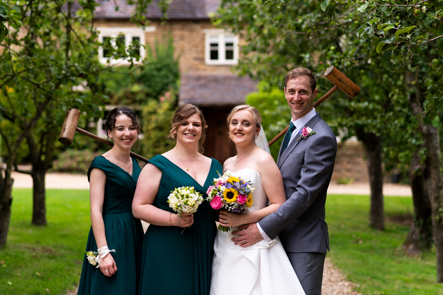 Green and gold for Rebecca & David's Dodmoor House (Daventry) wedding, with Pudding & Plum Photography (27)