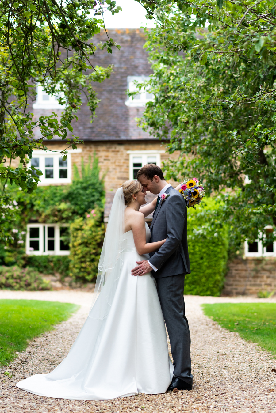 Green and gold for Rebecca & David's Dodmoor House (Daventry) wedding, with Pudding & Plum Photography (29)