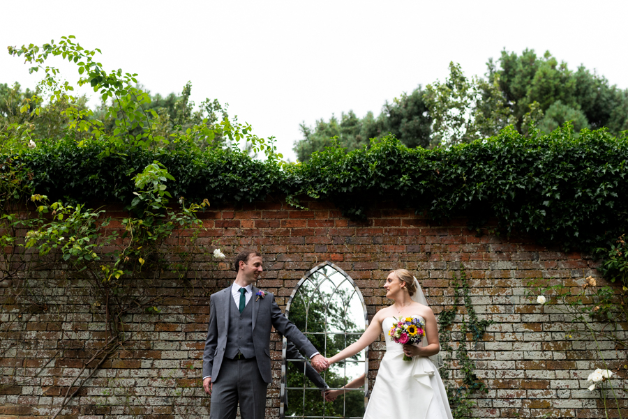 Green and gold for Rebecca & David's Dodmoor House (Daventry) wedding, with Pudding & Plum Photography (30)
