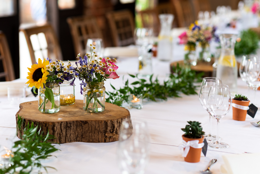 Green and gold for Rebecca & David's Dodmoor House (Daventry) wedding, with Pudding & Plum Photography (32)