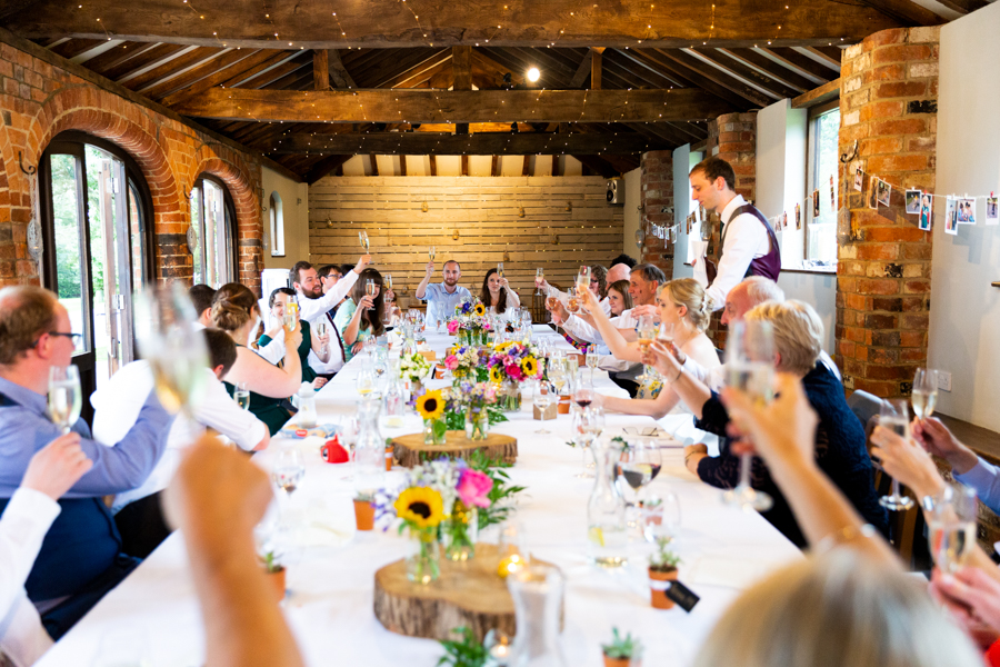 Green and gold for Rebecca & David's Dodmoor House (Daventry) wedding, with Pudding & Plum Photography (33)