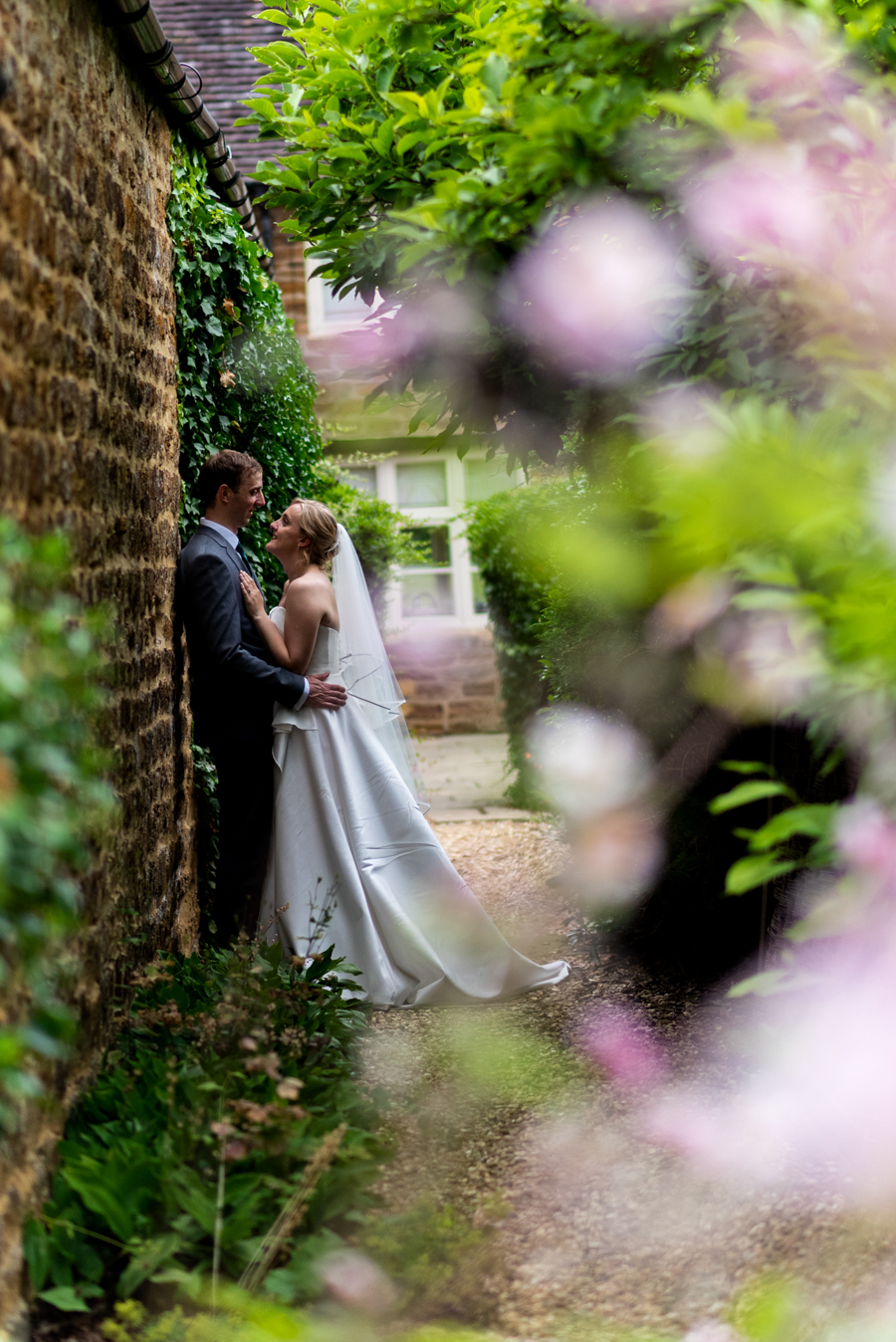 Green and gold for Rebecca & David's Dodmoor House (Daventry) wedding, with Pudding & Plum Photography (38)