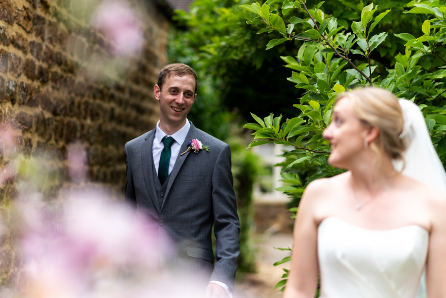 Green and gold for Rebecca & David's Dodmoor House (Daventry) wedding, with Pudding & Plum Photography (39)