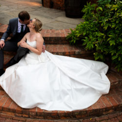 Green and gold for Rebecca & David's Dodmoor House (Daventry) wedding, with Pudding & Plum Photography