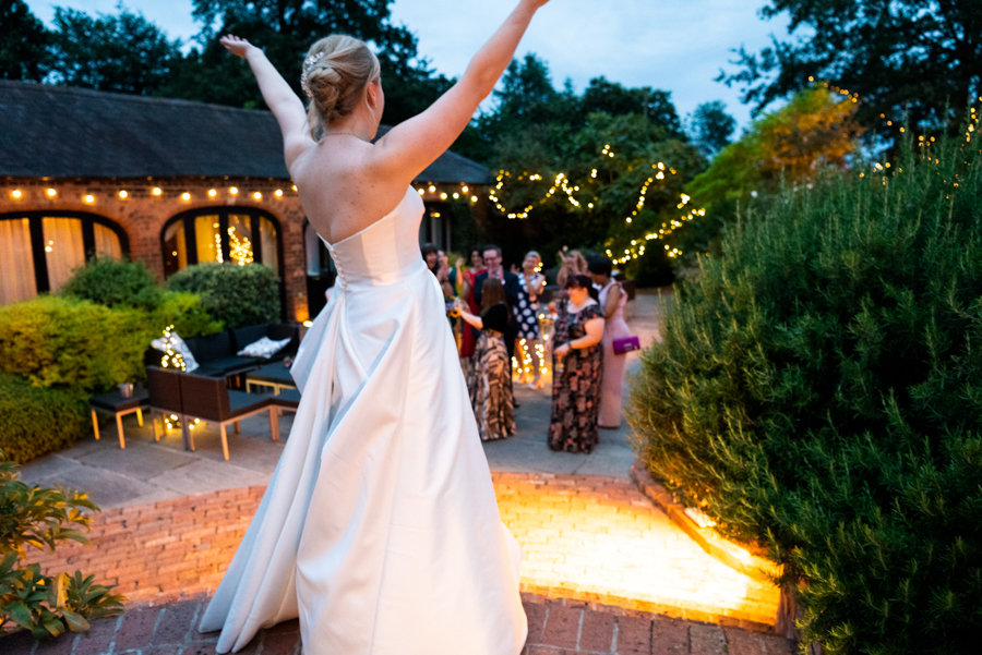 Green and gold for Rebecca & David's Dodmoor House (Daventry) wedding, with Pudding & Plum Photography (48)