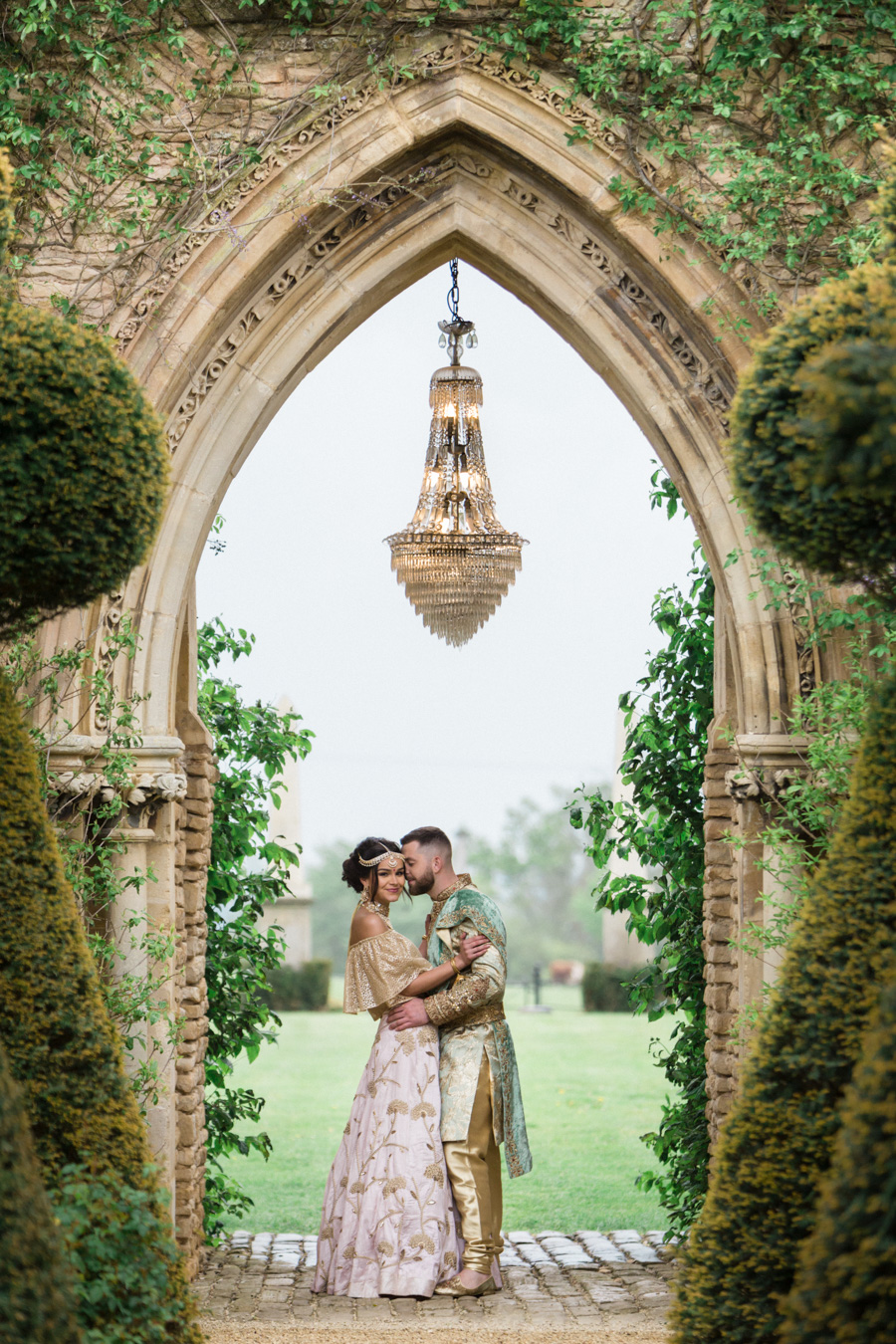 Asian fusion wedding style from Euridge Manor in Wiltshire (7)