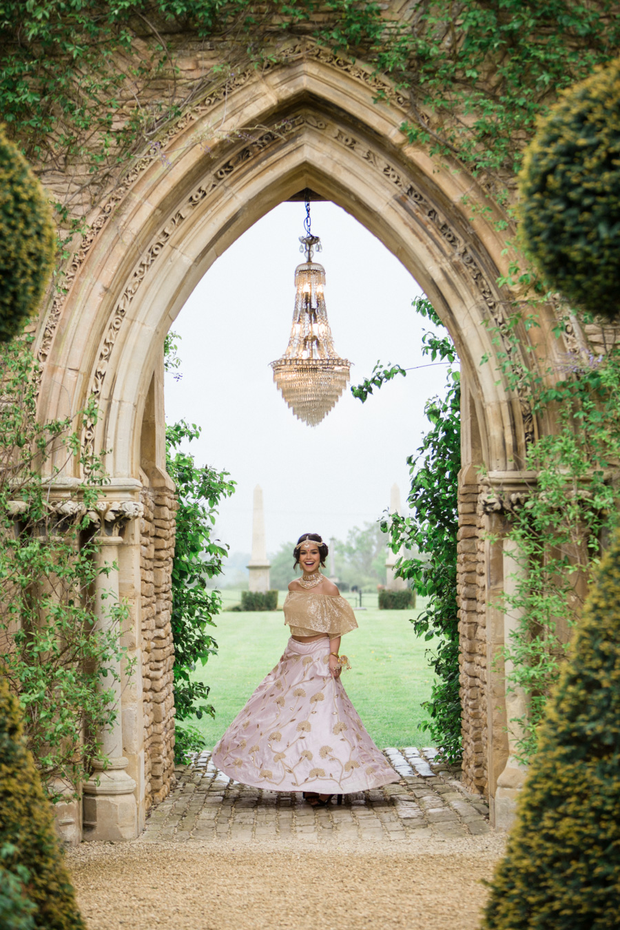 Asian fusion wedding style from Euridge Manor in Wiltshire (8)