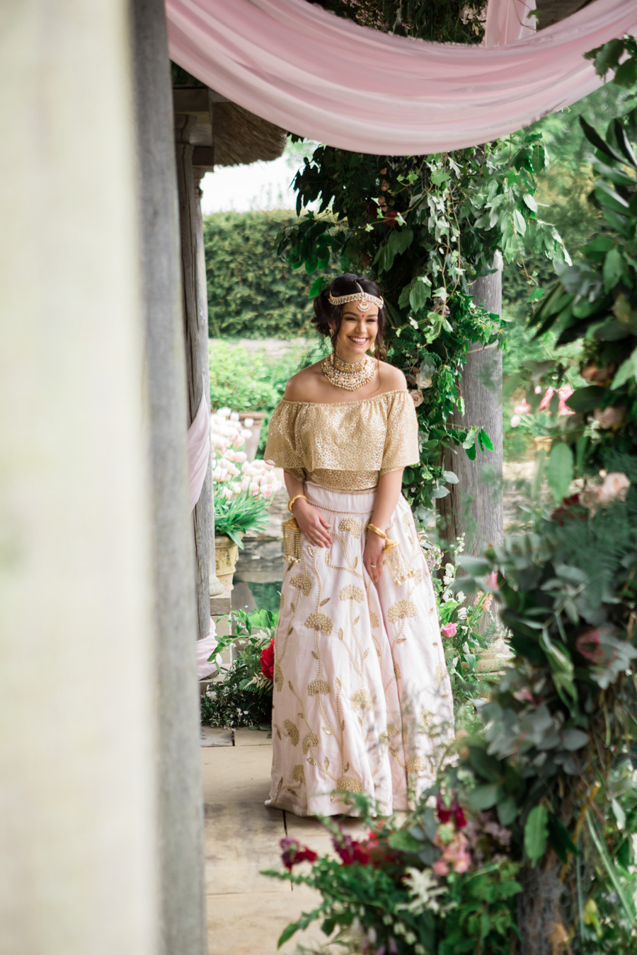 Asian fusion wedding style from Euridge Manor in Wiltshire (23)