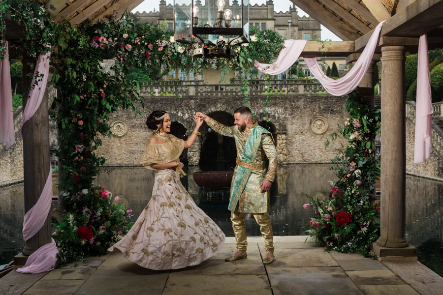 Asian fusion wedding style from Euridge Manor in Wiltshire (24)