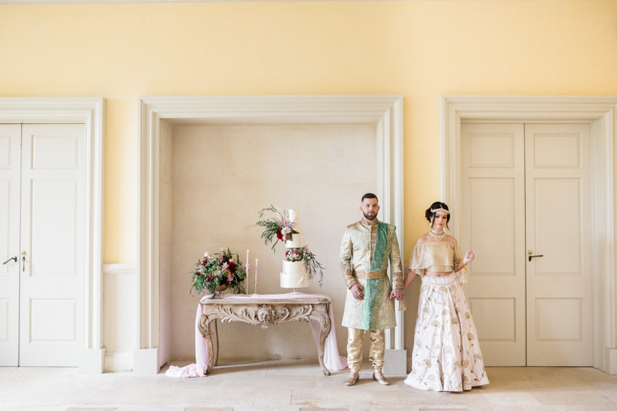 Asian fusion wedding style from Euridge Manor in Wiltshire (28)