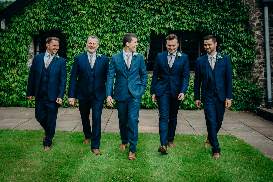 Daisy & Alex's beautiful Lakeview Manor (Devon) wedding, with Clare Kinchin Photography (14)