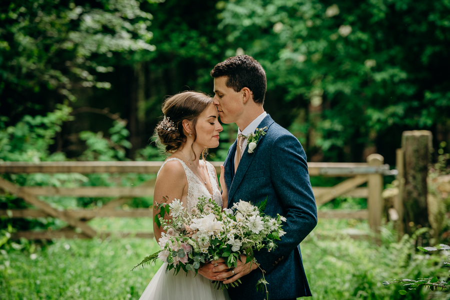 Daisy & Alex's beautiful Lakeview Manor (Devon) wedding, with Clare Kinchin Photography (33)