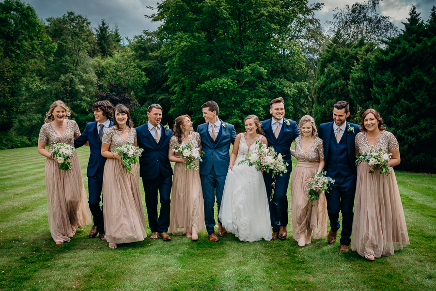 Daisy & Alex's beautiful Lakeview Manor (Devon) wedding, with Clare Kinchin Photography (36)