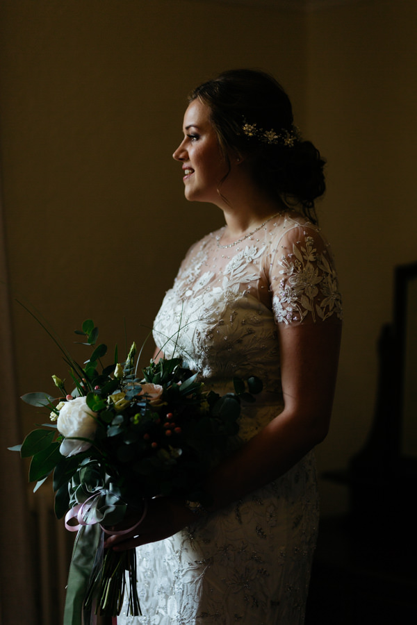 Rosie & Chris's sunny woodland wedding in Cumbria, with Lauren McGuiness Photography (3)