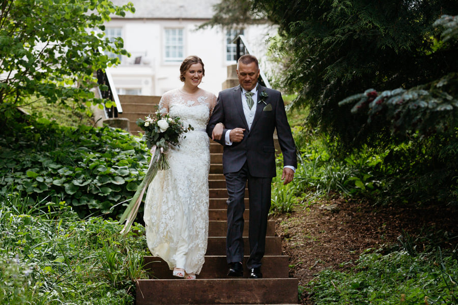 Rosie & Chris's sunny woodland wedding in Cumbria, with Lauren McGuiness Photography (6)