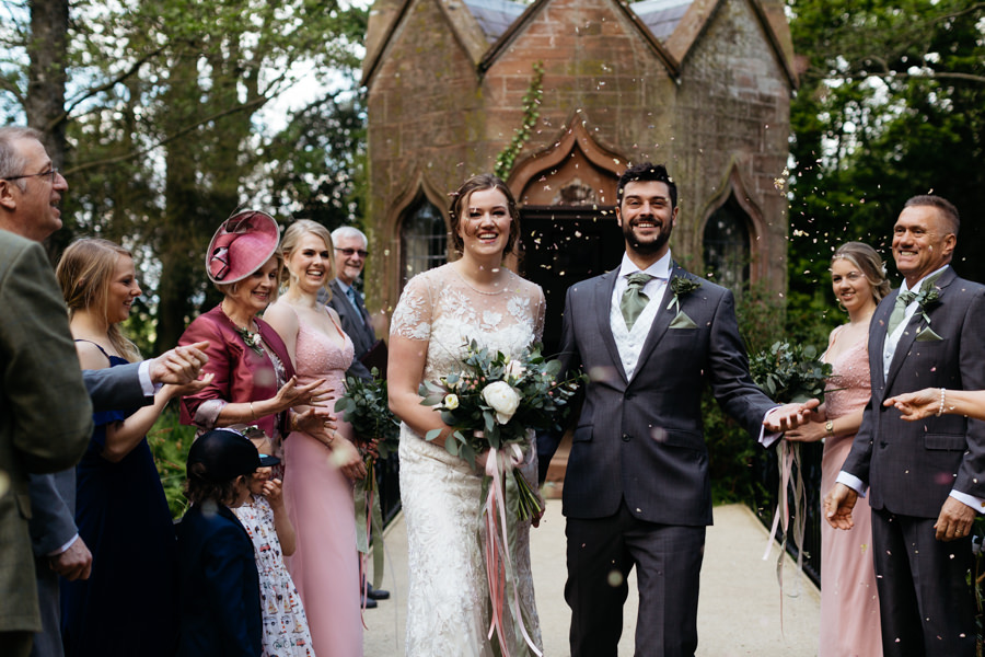 Rosie & Chris's sunny woodland wedding in Cumbria, with Lauren McGuiness Photography (9)
