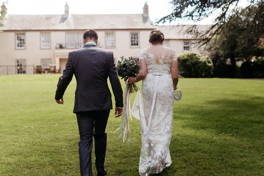 Rosie & Chris's sunny woodland wedding in Cumbria, with Lauren McGuiness Photography (12)