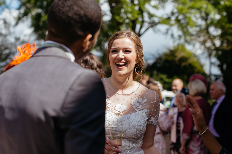 Rosie & Chris's sunny woodland wedding in Cumbria, with Lauren McGuiness Photography (13)
