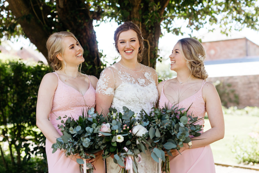 Rosie & Chris's sunny woodland wedding in Cumbria, with Lauren McGuiness Photography (15)