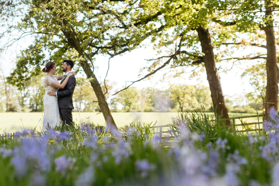 Rosie & Chris's sunny woodland wedding in Cumbria, with Lauren McGuiness Photography (28)