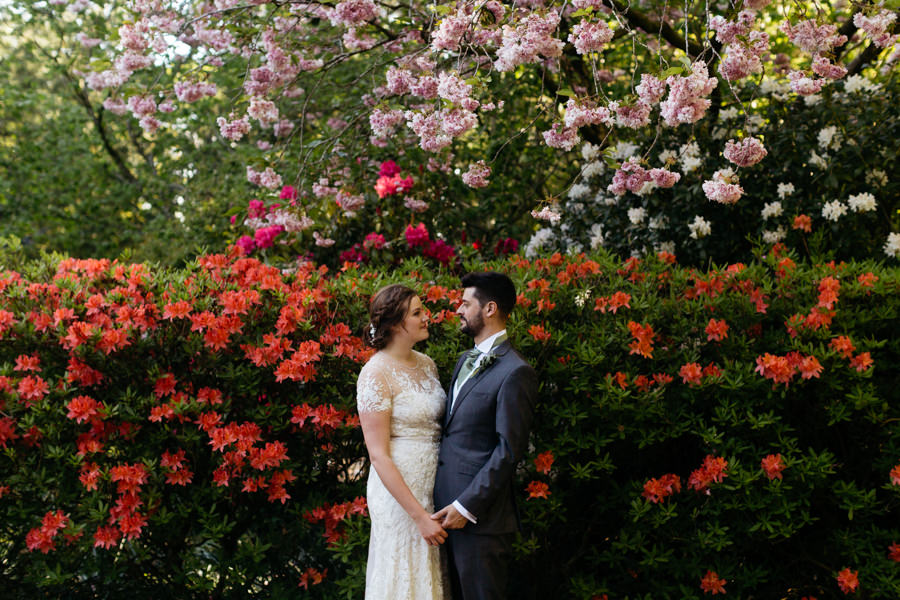 Rosie & Chris's sunny woodland wedding in Cumbria, with Lauren McGuiness Photography (29)