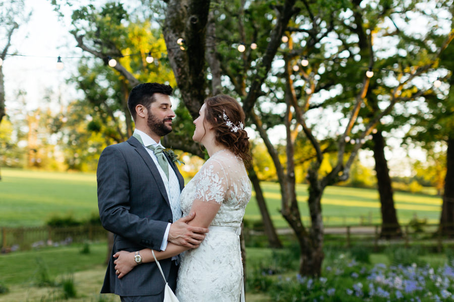 Rosie & Chris's sunny woodland wedding in Cumbria, with Lauren McGuiness Photography (35)