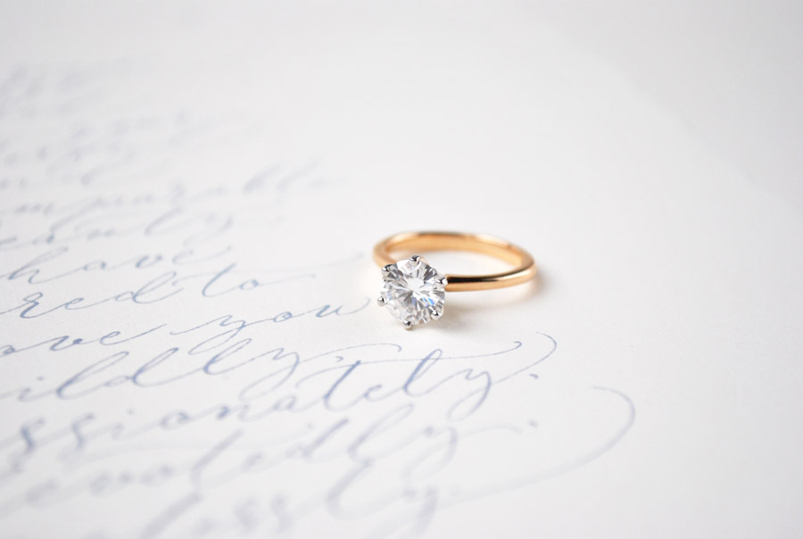 Bespoke sustainable engagement rings by Lily Arkwright Manchester UK (2)