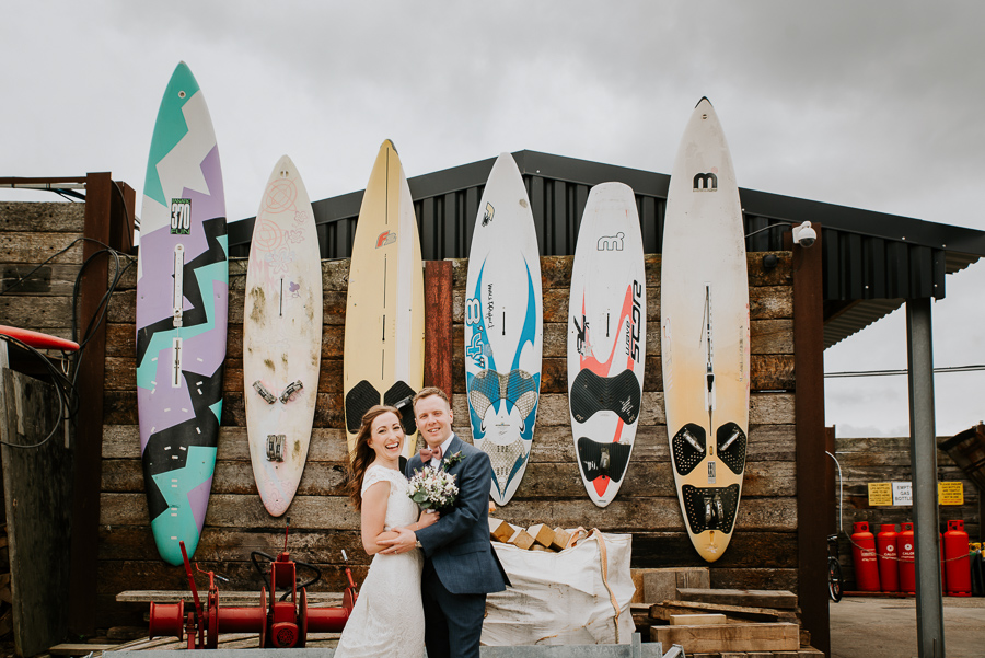 Alex and Anneka's beautiful East Quay wedding, with Michelle Cordner Photography (19)