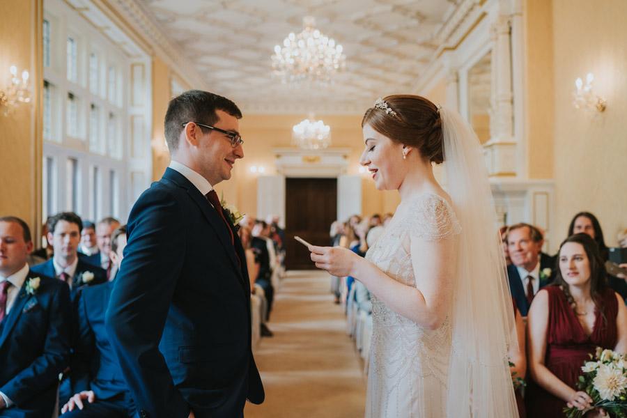 Mark & Philippa's joyful Holmewood Hall wedding, with Grace Elizabeth (19)