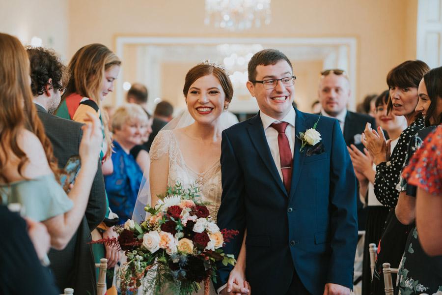 Mark & Philippa's joyful Holmewood Hall wedding, with Grace Elizabeth (22)